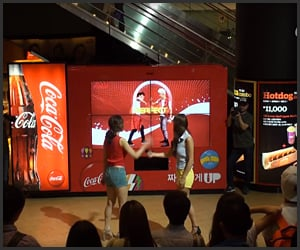 Coke: Dance Vending Machine