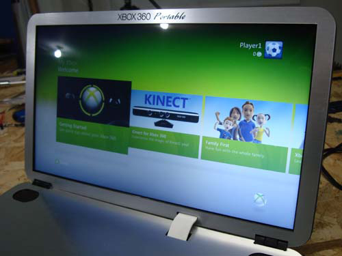 15″ Xbox 360 Portable