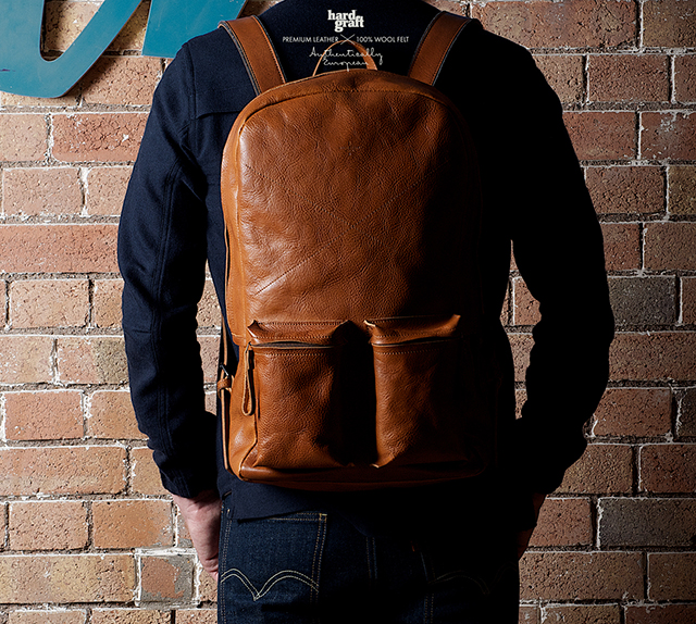 Hard Graft Old School Rucksack