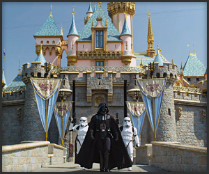 Darth Vader at Disneyland