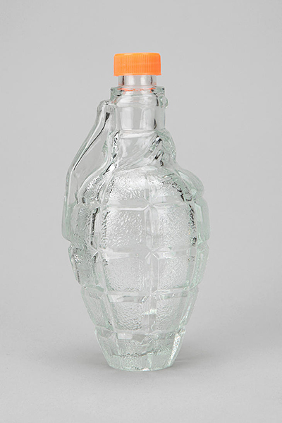 Glass Grenade Decanter