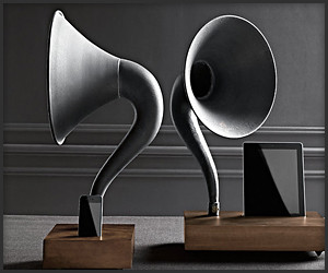 iPhone/iPad Gramophone Dock