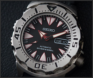 Seiko Monster Diver's Watch