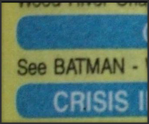 Batman in the Phone Book