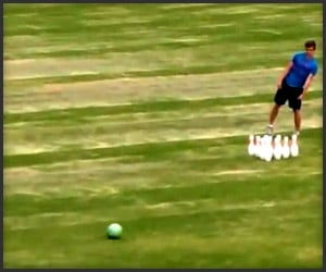 World's Longest Bowling Strike