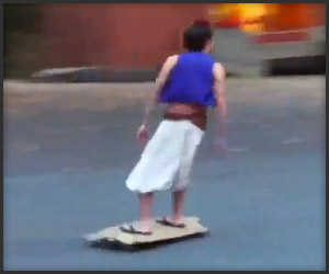 Skateboard or Magic Carpet?
