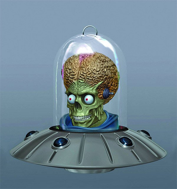 Mars Attacks! Ornament