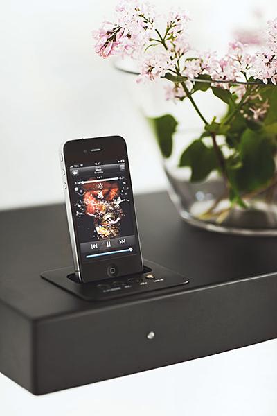 aShelf iPhone Dock