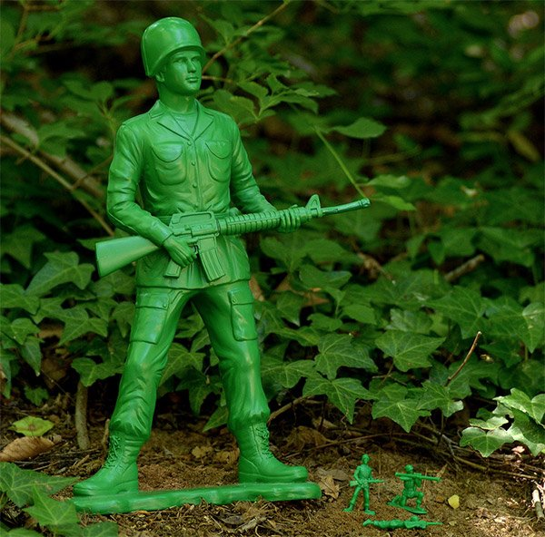 Great Big Toy Soldier