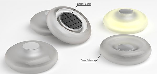 Solar Jelly Lamp Concept