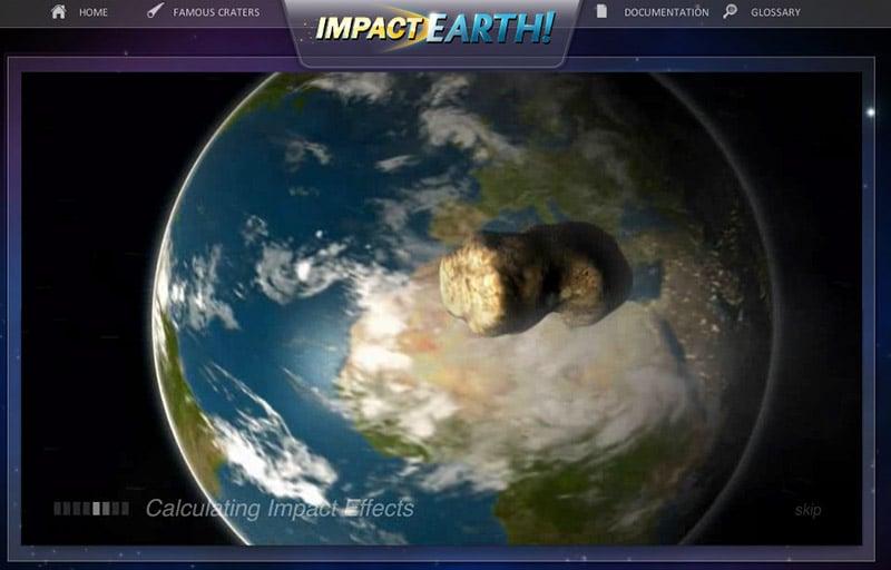 Asteroid Impact Simulator