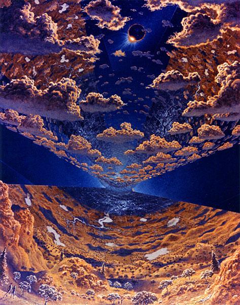 Seventies Space Colony Art