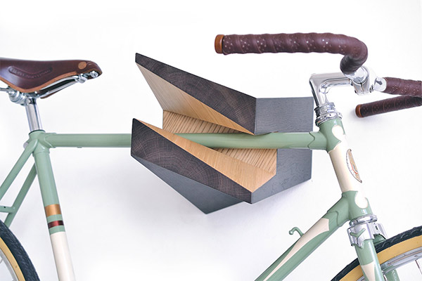 Woodstick Bike Racks