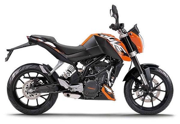 KTM 200 Duke Bike