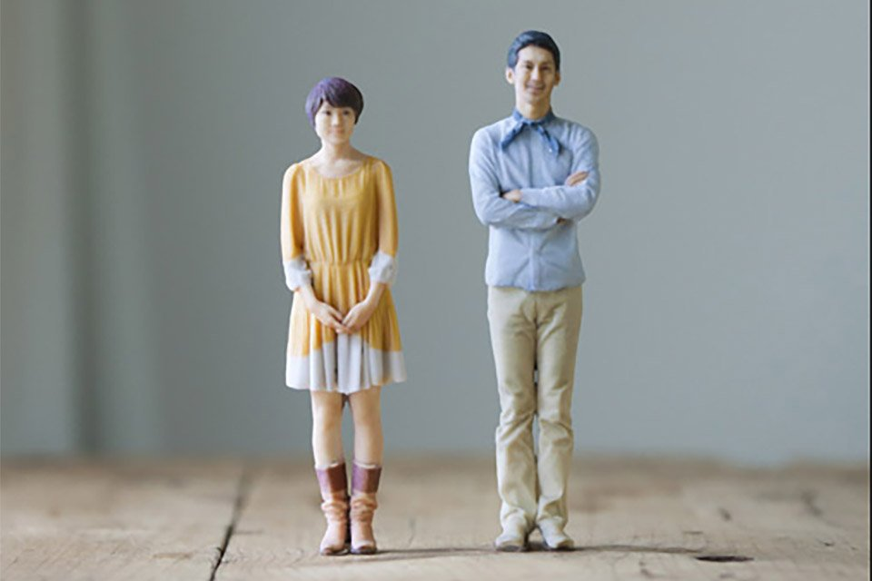 3D Printed Custom Figurines