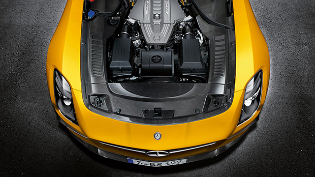 2012 MB SLS AMG Black Series