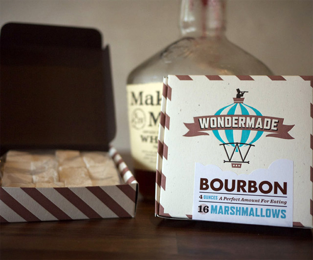 Liquor-Laden Marshmallows