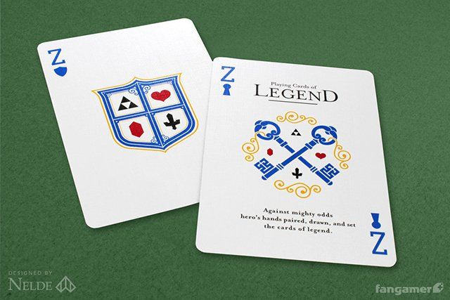 Legend of Zelda Playing Cards