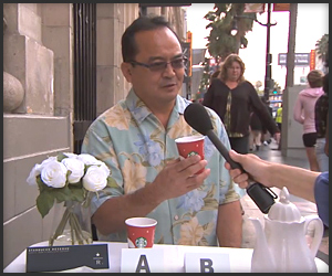 Jimmy Kimmel Starbucks Test