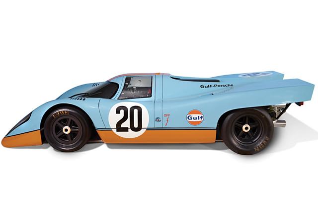 Porsche 917 Le Mans Raceway