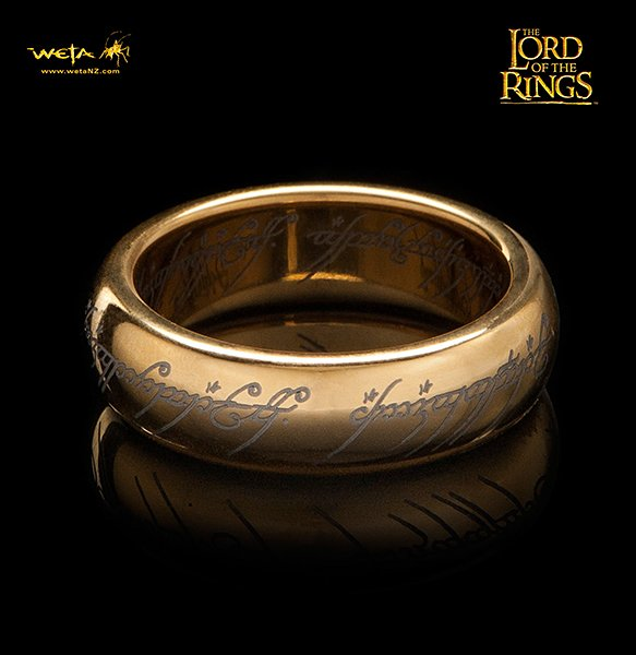 One Right To Rule Them All One Ring To Find Them One: LotR One Ring Replica