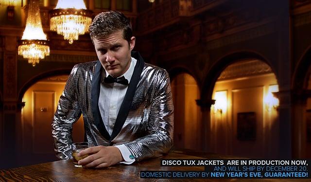 Disco Tuxedo Jacket The Awesomer