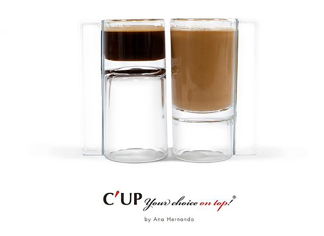 C'UP Reversible Coffee Cup