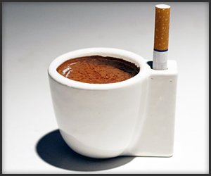 Coffee & A Smoke Cup