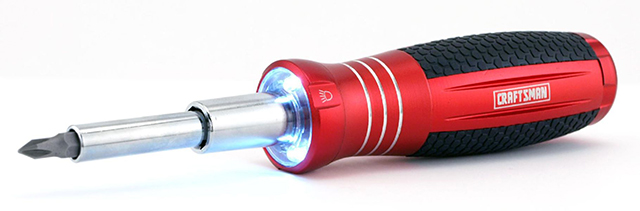Craftsman 6-in-1 LED Screwdriver