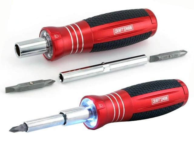 Craftsman 6-in-1 LED Screwdriver