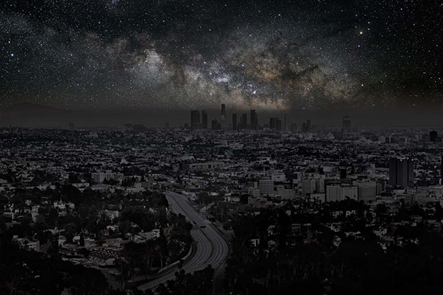 Darkened Cities