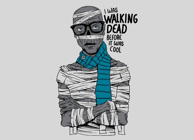 Hipster Mummy T-Shirt