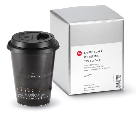 Leica Lens Coffee Cups