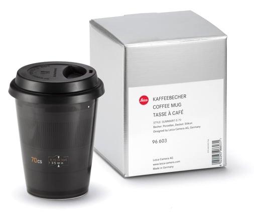 Leica Lens Coffee Cups