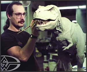 Making the Jurassic Park T-Rex