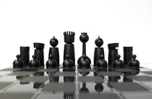 Mars Made Chess Set