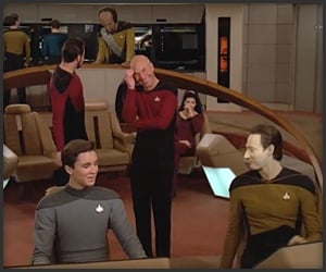 Star Trek TNG Gag Reel