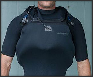 Surfers' Self-Inflation Vest