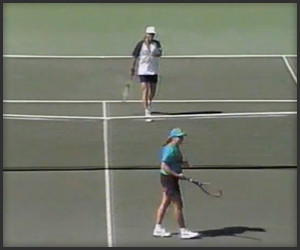 Andre Agassi vs. Ball Girl