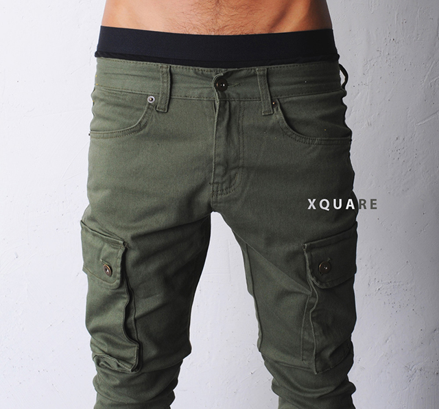Baggy-Skinny Cargo Pants - The Awesomer