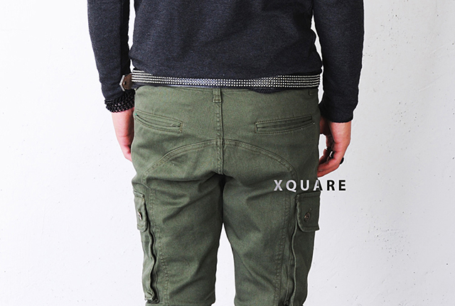 Baggy-Skinny Cargo Pants