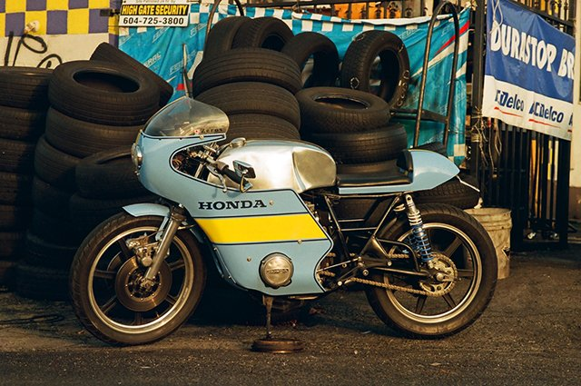 Chris Booth Honda CB500