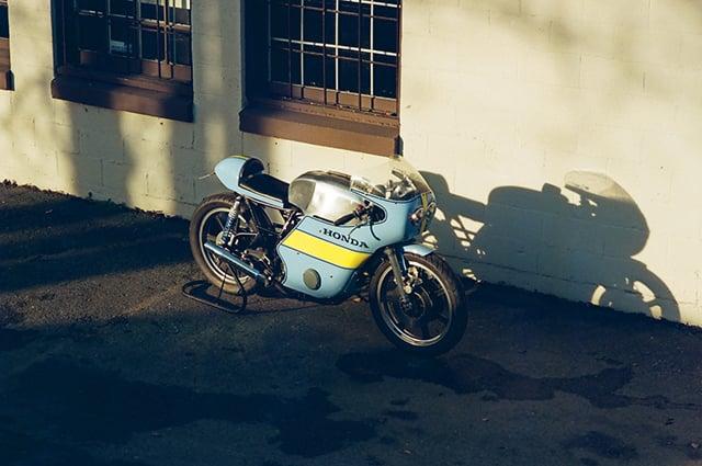 Chris Booth Honda CB500