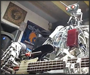 Compressorhead Robot Band