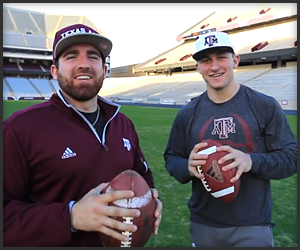 Dude Perfect x Johnny Football