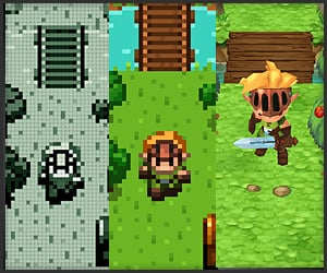 Evoland's creative concepts take players through a history of RPGs