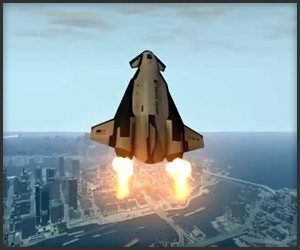 GTA IV Shuttle and Moon Mod