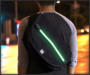 Halo Zero LED Messenger Bag