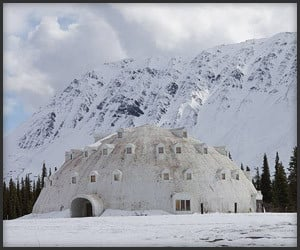 Abandoned Igloo Hotel