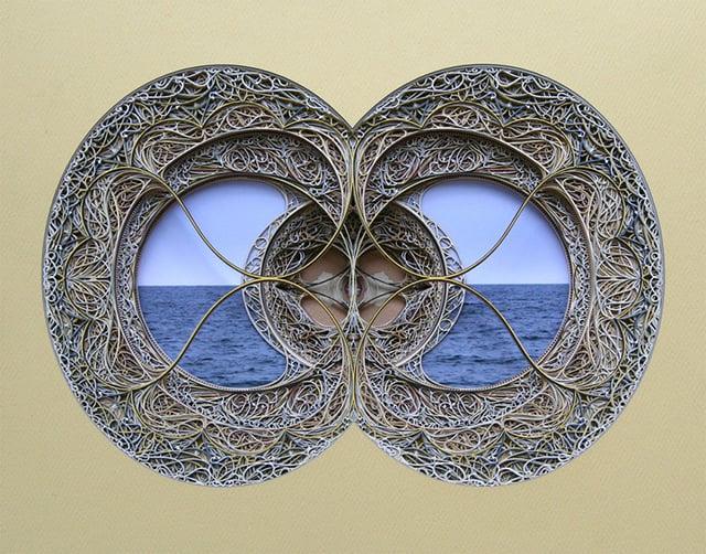 Laser-Cut Paper Art